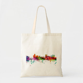 Winnipeg Canada Skyline Budget Tote Bag