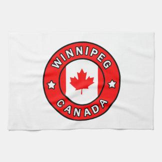 Winnipeg Canada Tea Towel