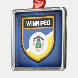 Winnipeg Flag de Christmas Ornament