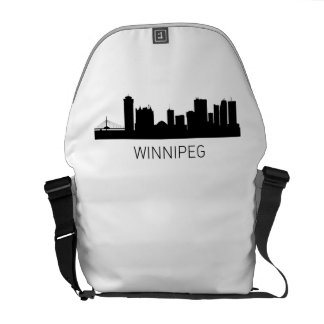 Winnipeg Manitoba Cityscape Courier Bag