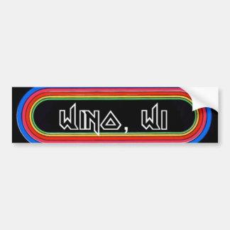 Wino, WI KLOS Bumper Sticker