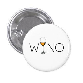 Wino Wine Lover Glass 3 Cm Round Badge