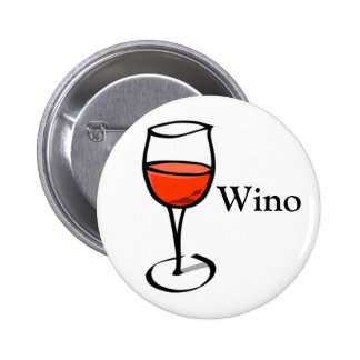Wino Word Funny Wine Quote Special Events Festival 6 Cm Round Badge