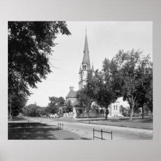 Winona, Minnesota, 1880 Poster