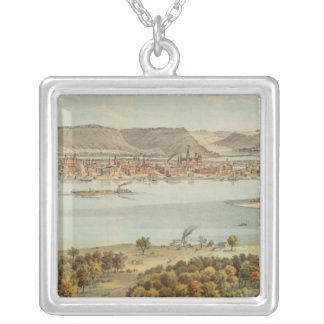 Winona, Minnesota Silver Plated Necklace