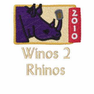 Winos to Rhinos Logo on Nape