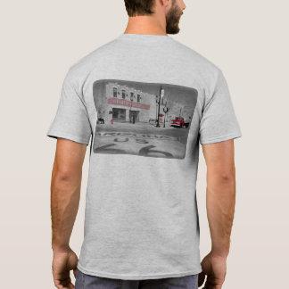Winslow Arizona Red Splash Photograph T-Shirt