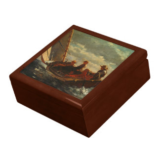 Winslow Homer - Breezing Up a Fair Wind Large Square Gift Box