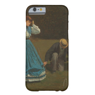 Winslow Homer - Croquet Scene Barely There iPhone 6 Case