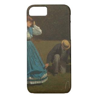 Winslow Homer - Croquet Scene iPhone 7 Case