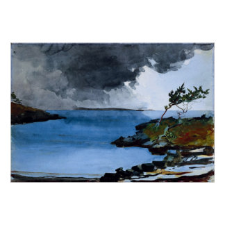 Winslow Homer s The Coming Storm - Print