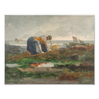 Winslow Homer - The Mussel Gatherers Photograph