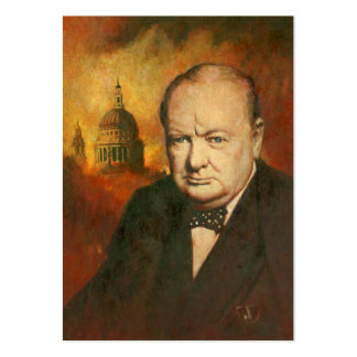 Winston Churchill ACEO Business Card