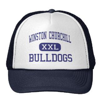 Winston Churchill - Bulldogs - High - Potomac Cap