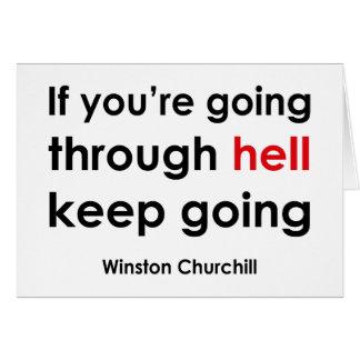 Winston Churchill Card