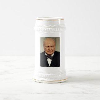 Winston Churchill Failure Wisdom Quote Gifts Beer Stein