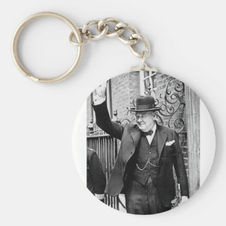 Winston Churchill Key Ring