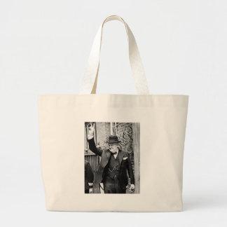 Winston Churchill Large Tote Bag