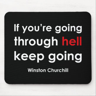 Winston Churchill Mouse Mat