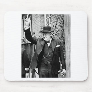 Winston Churchill Mouse Pad