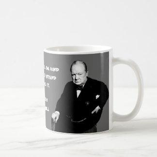 Winston Churchill - On Writing History Coffee Mugs