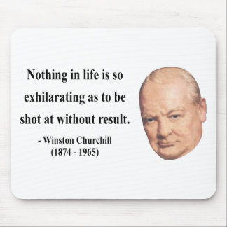 Winston Churchill Quote 13b Mouse Pad
