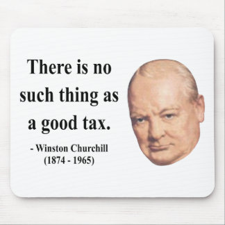 Winston Churchill Quote 14b Mouse Mat