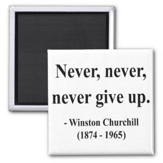Winston Churchill Quote 1a Fridge Magnet