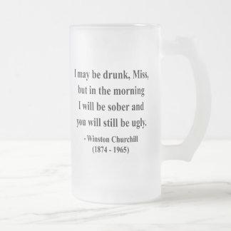 Winston Churchill Quote 2a Mugs