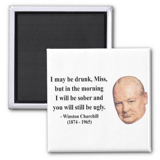 Winston Churchill Quote 2b Refrigerator Magnet