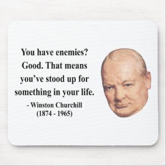 Winston Churchill Quote 3b Mouse Mat