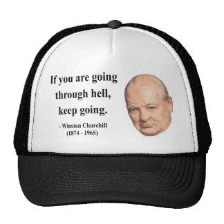 Winston Churchill Quote 4b Cap