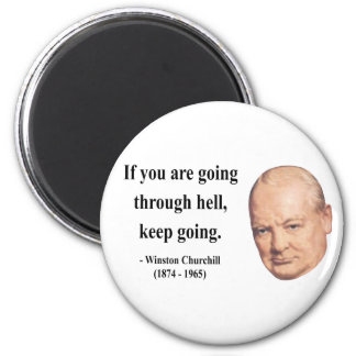 Winston Churchill Quote 4b Fridge Magnets