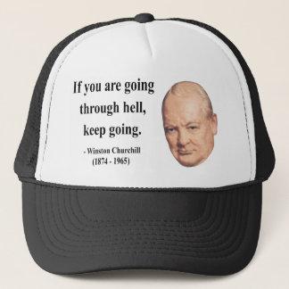 Winston Churchill Quote 4b Trucker Hat
