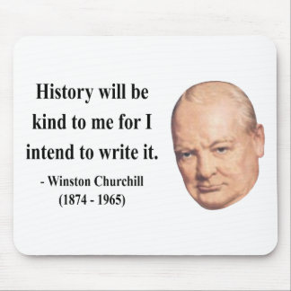 Winston Churchill Quote 7b Mouse Pads