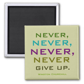 winston churchill quote magnet
