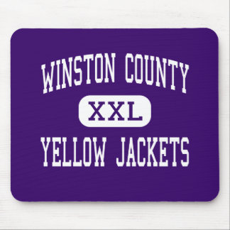 Winston County - Yellow Jackets - Double Springs Mouse Pad