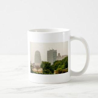 winston salem nc basic white mug