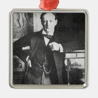 Winston Spencer Churchill in 1904 Christmas Ornament