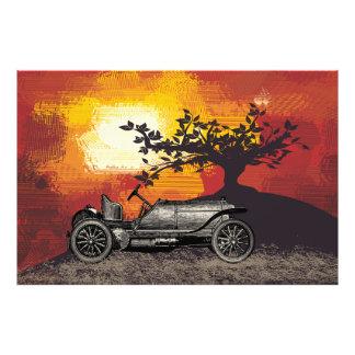 Wintage Car Photo Print