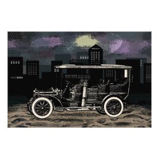 Wintage Car Wagon Photo Print