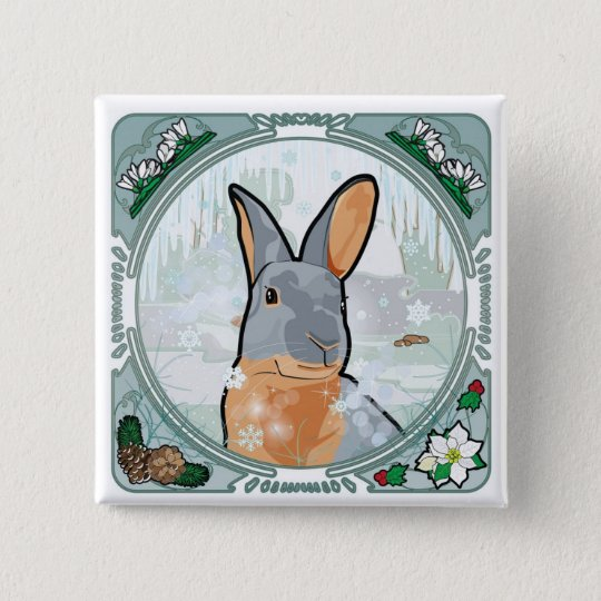 WINTER 15 CM SQUARE BADGE