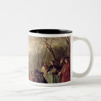 Winter, 1738 Two-Tone coffee mug