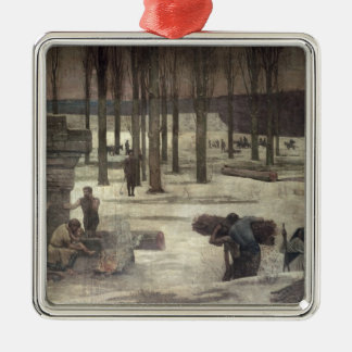 Winter, 1889-93 christmas ornament