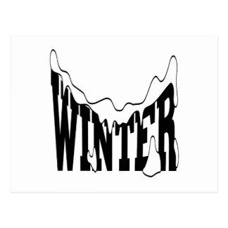 Winter 1 postcard