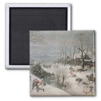 Winter 2 square magnet