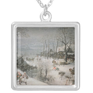 Winter 2 silver plated necklace