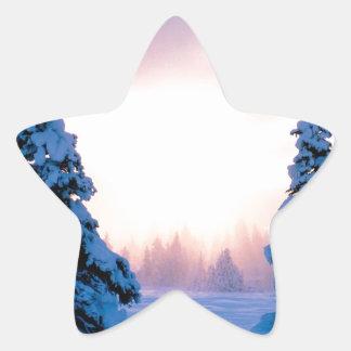 Winter A New Season Awaits Star Sticker