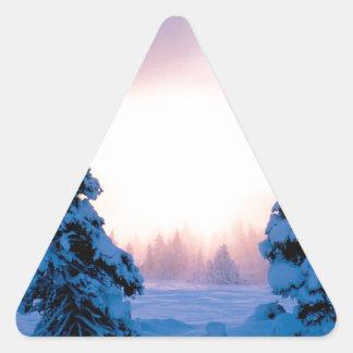 Winter A New Season Awaits Sticker
