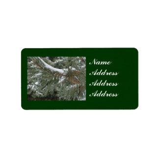 Winter Address Labels